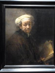 Autoportrait en l'apôtre Paul - Rembrandt